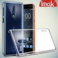 IMAK Пластиковый прозрачный чехол для Nokia 8