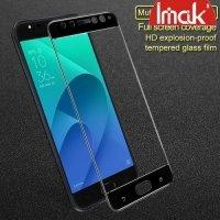 IMAK Закаленное защитное стекло для Asus Zenfone 4 Selfie Pro ZD552KL на весь экран - Черный