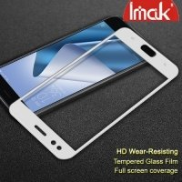 IMAK Закаленное защитное стекло для Asus Zenfone 4 ZE554KL на весь экран - Белый