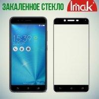 IMAK Закаленное защитное стекло для Asus Zenfone Live ZB501KL на весь экран - Черный