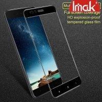 IMAK Закаленное защитное стекло для Xiaomi Mi 5x / Mi A1 на весь экран - Черный