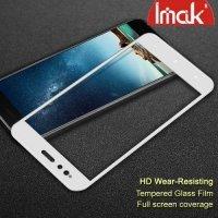 IMAK Закаленное защитное стекло для Xiaomi Mi 5x / Mi A1 на весь экран - Белый