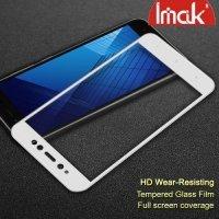 IMAK Закаленное защитное стекло для Xiaomi Redmi Note 5A 3/32GB на весь экран - Белый