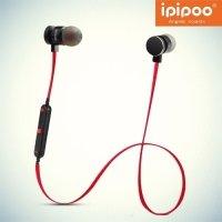 IPIPOO iL93BL беспроводные bluetooth наушники гарнитура с микрофоном - Красный