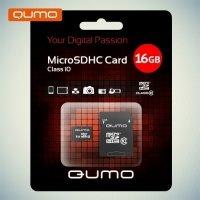Карта памяти QUMO MicroSDHC 16ГБ Class 10 UHS-I