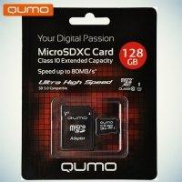 Карта памяти QUMO MicroSDXC 128 ГБ Class 10 UHS-I