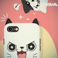 Kingxbar двухслойный защитный чехол для iPhone 8/7 - Котик