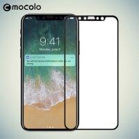 Mocolo Защитное стекло для iPhone X на весь экран - Черный