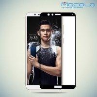 Mocolo Защитное стекло для Huawei Honor 7X на весь экран - Черный
