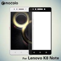 Mocolo Защитное стекло для Lenovo K8 Note на весь экран - Черный