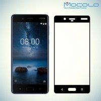 Mocolo Защитное стекло для Nokia 8 на весь экран - Черный