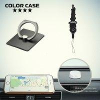 Кольцо для телефона с автомобильным держателем и шнурок на шею