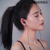 Remax RM-510 Наушники гарнитура с микрофоном – Черный