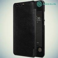 Nillkin Qin Series чехол книжка для Huawei P10 Plus - Черный
