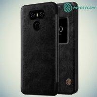 Nillkin Qin Series чехол книжка для LG G6 H870DS - Черный
