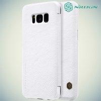 Nillkin Qin Series чехол книжка для Samsung Galaxy S8 - Белый