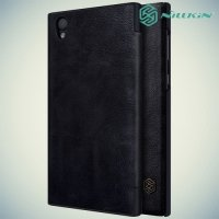 Nillkin Qin Series чехол книжка для Sony Xperia L1 - Черный