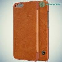 Nillkin Qin Series чехол книжка для Xiaomi Mi 6 - Коричневый