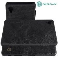 Nillkin Qin Series чехол книжка для Sony Xperia X Performance - Черный