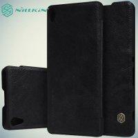 Nillkin Qin Series чехол книжка для Sony Xperia XA - Черный