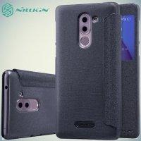 Nillkin с умным окном чехол книжка для Huawei Honor 6x - Sparkle Case Серый