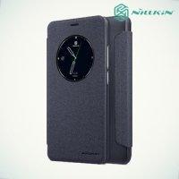 Nillkin с умным окном чехол книжка для Meizu M5 Note - Sparkle Case Серый