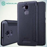 Nillkin ультра тонкий чехол книжка для Asus ZenFone 3 Max ZC520TL - Sparkle Case Серый