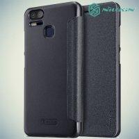 Nillkin ультра тонкий чехол книжка для Asus ZenFone 3 Zoom ZE553KL - Sparkle Case Серый