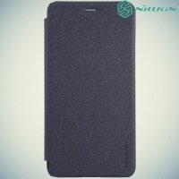 Nillkin ультра тонкий чехол книжка для Huawei Honor 5C - Sparkle Case Серый