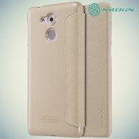 Nillkin ультра тонкий чехол книжка для Huawei Honor 6C - Sparkle Case Золотой