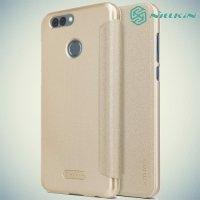 Nillkin ультра тонкий чехол книжка для Huawei Nova 2 - Sparkle Case Золотой