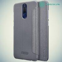 Nillkin ультра тонкий чехол книжка для Huawei Nova 2i - Sparkle Case Серый