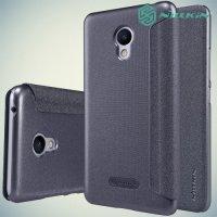 Nillkin ультра тонкий чехол книжка для Meizu m3s mini - Sparkle Case Серый