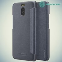 Nillkin ультра тонкий чехол книжка для Meizu M6 Note - Sparkle Case Серый