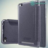 Nillkin ультра тонкий чехол книжка для Xiaomi Redmi 3 - Sparkle Case Серый