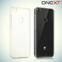 OneXT прозрачный cиликоновый чехол для Huawei Honor 8 lite / P8 lite (2017) - Прозрачный