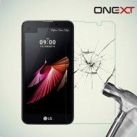OneXT Закаленное защитное стекло для LG X view