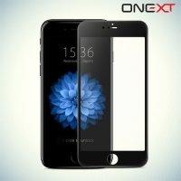 OneXT Закругленное защитное 3D стекло для iPhone 6/6s на весь экран - Черный