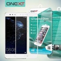 OneXT Защитное стекло для Huawei Nova lite 2017 на весь экран - Белый