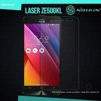 Противоударное закаленное стекло на Asus Zenfone 2 Laser ZE500KG ZE500KL Nillkin Amazing 9H