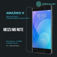 Противоударное закаленное стекло на Meizu M6 Note Nillkin Amazing 9H