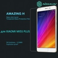 Противоударное закаленное стекло на Xiaomi Mi 5s Plus Nillkin Amazing 9H