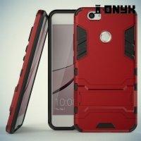 Противоударный гибридный чехол для Huawei nova - Красный
