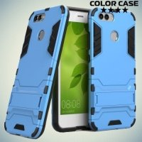 Противоударный гибридный чехол для Huawei Nova 2 - Синий