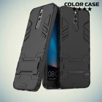 Противоударный гибридный чехол для Huawei Nova 2i - Черный