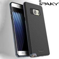 IPAKY Противоударный гибридный чехол для Samsung Galaxy Note 7 - Черный