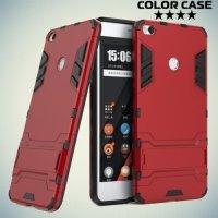 Противоударный гибридный чехол для Xiaomi Mi Max 2 - Красный