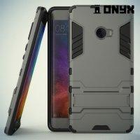 Противоударный гибридный чехол для Xiaomi Mi Note 2 - Серый