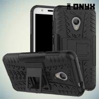 Противоударный защитный чехол для Alcatel One Touch U5 4047D - Черный