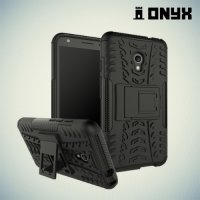 Противоударный защитный чехол для Alcatel OneTouch Pixi 4 (5) 5045D - Черный